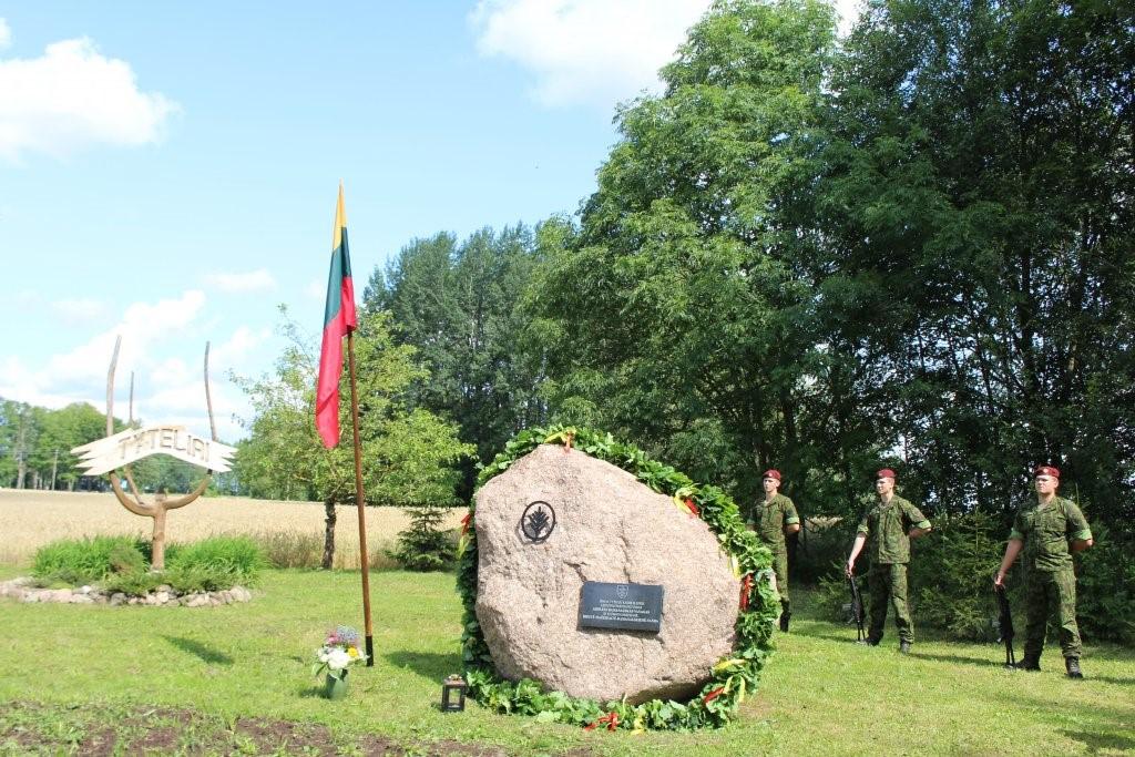 Paminklinis akmuo Adolfui Ramanauskui-Vanagui